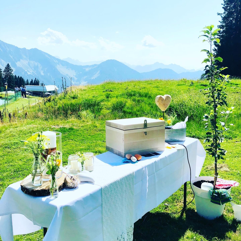 Hochzeit in den Bergen / Falba Stuba/Gapfohl